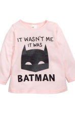 Top and leggings - Light pink/Batman - Kids | H&M CN 3